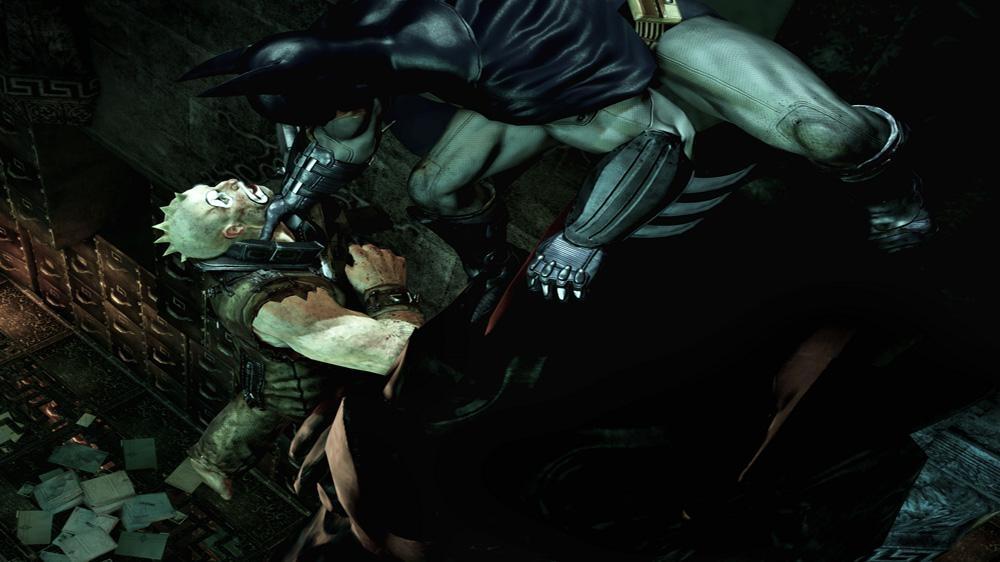 Snímek ze hry Batman: Arkham Asylum
