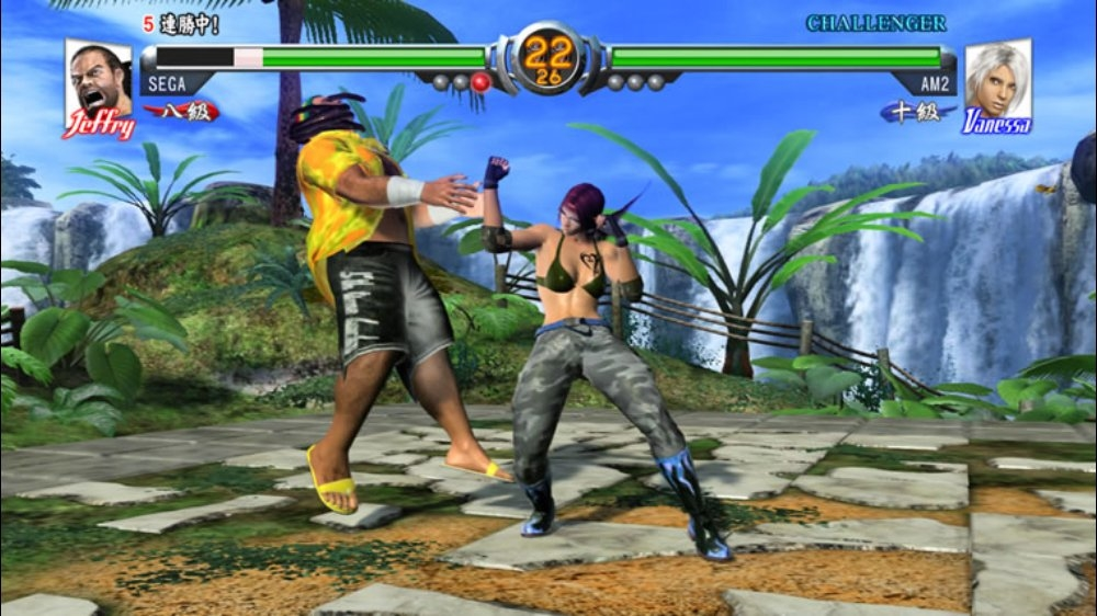Bild från Virtua Fighter 5