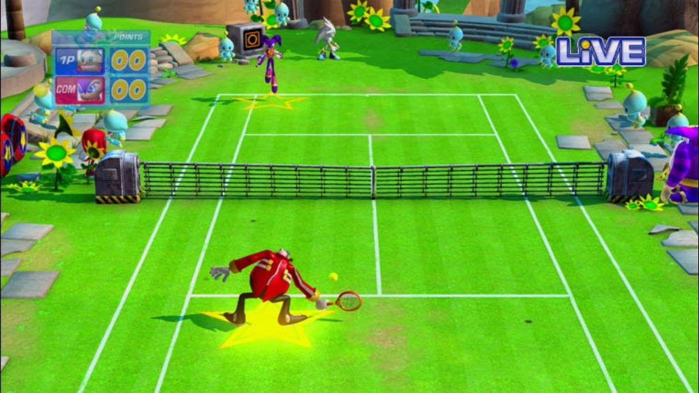 Image from SEGA Superstars Tennis