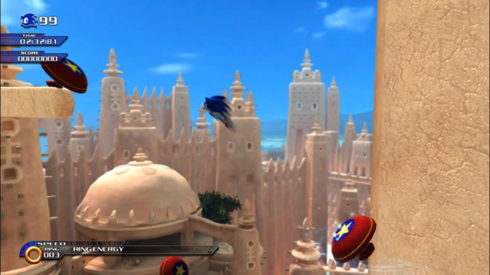 Image from SONIC UNLEASHED
