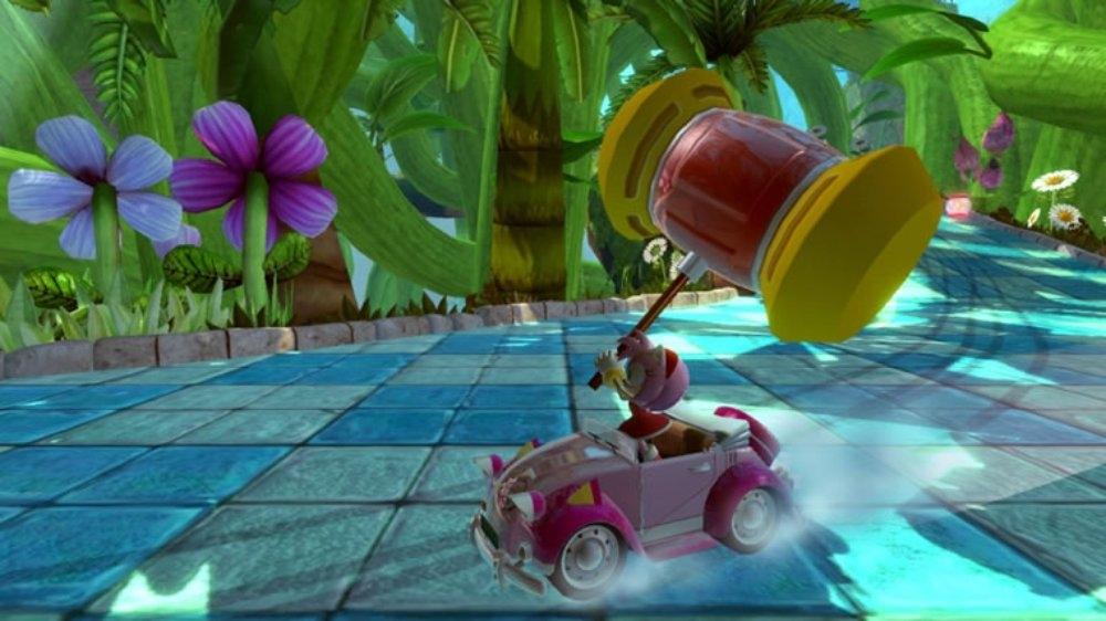 Snímek ze hry Sonic & SEGA Racing