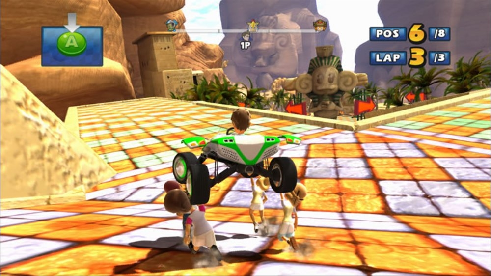 Image from Sonic &amp; SEGA Racing