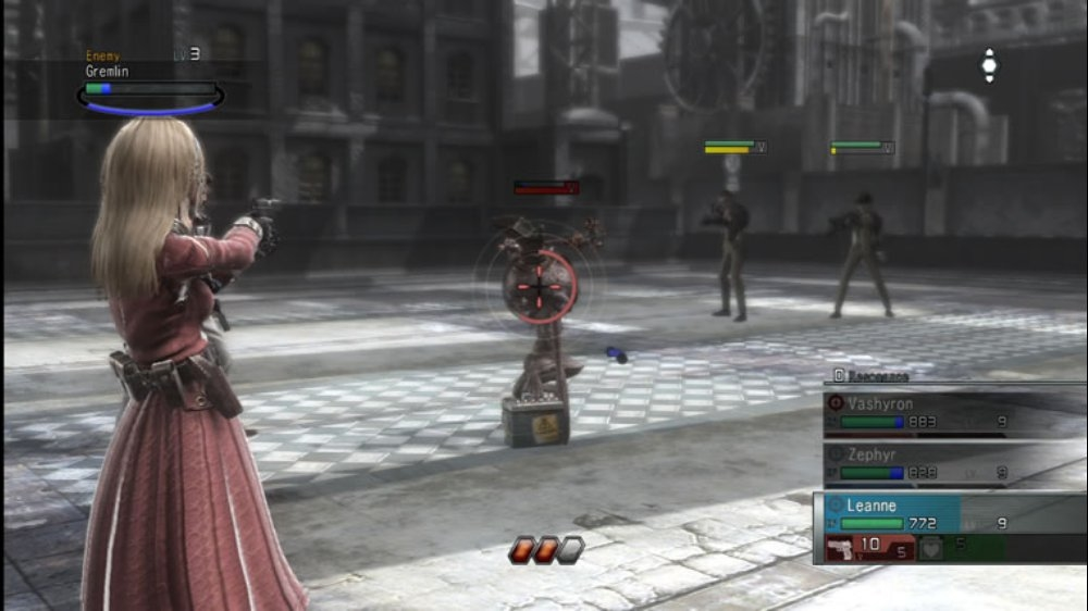 Bild från Resonance of Fate
