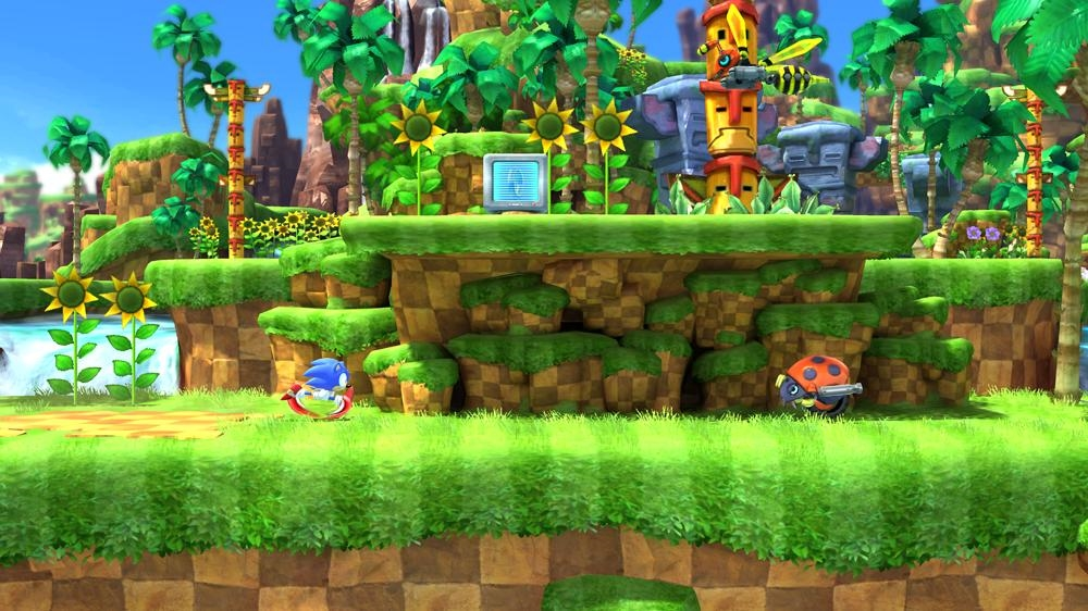 Bilde fra Sonic Generations