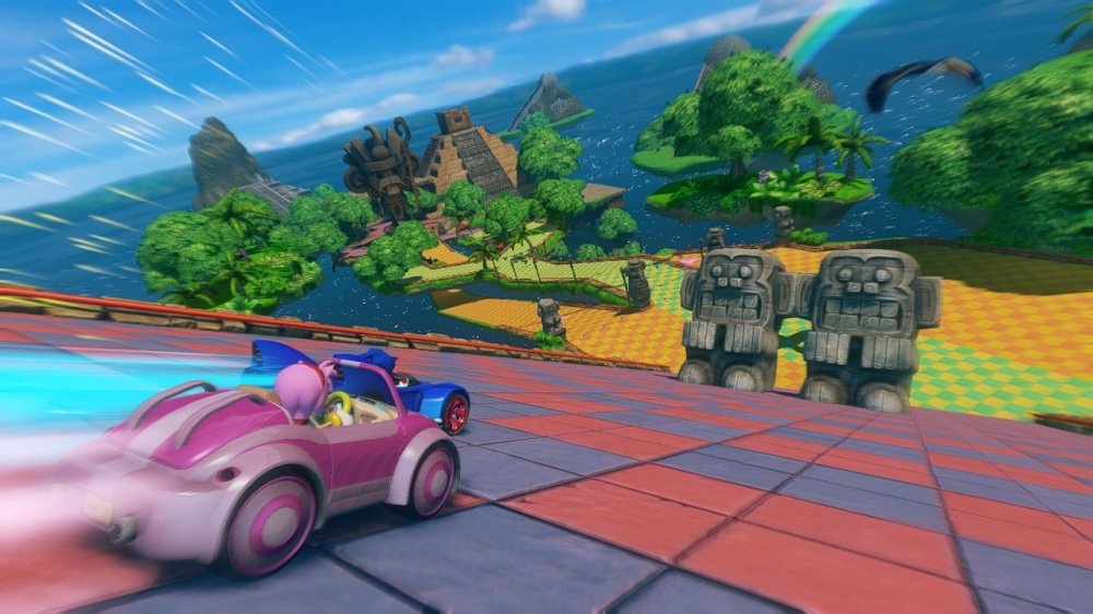 Snímek ze hry Sonic & All-Stars Racing Transformed