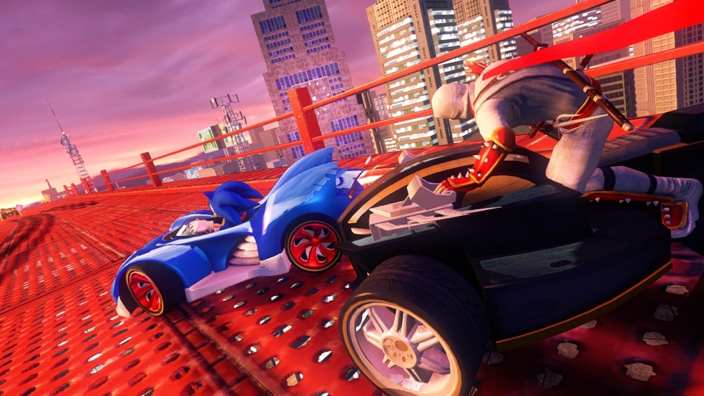 Obraz z Sonic & All-Stars Racing Transformed