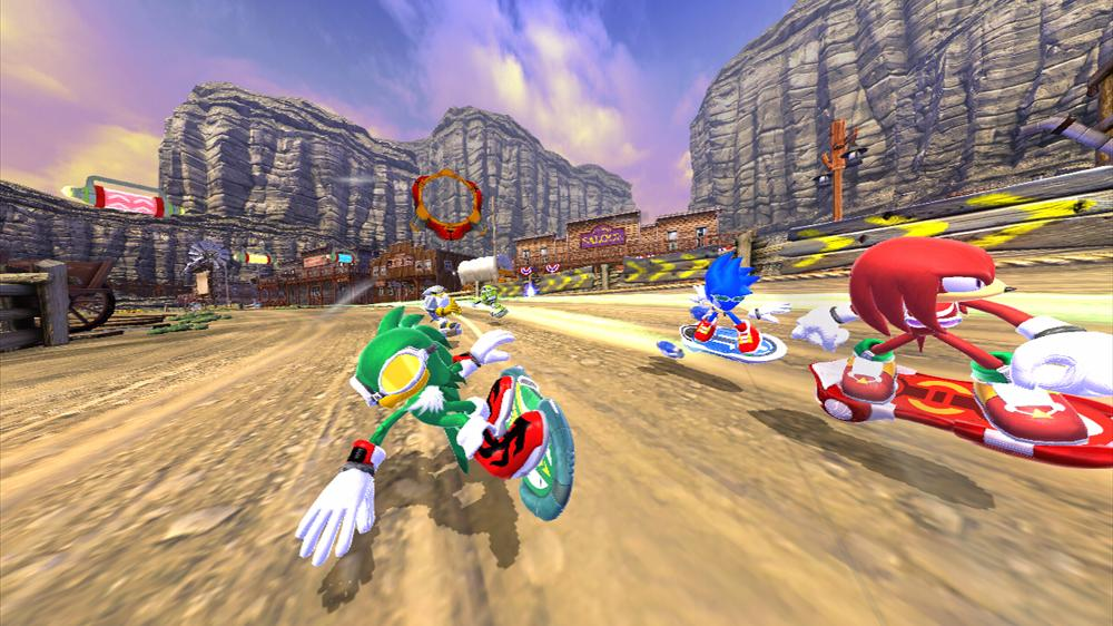 Image from SONIC FREE RIDERS DEMO