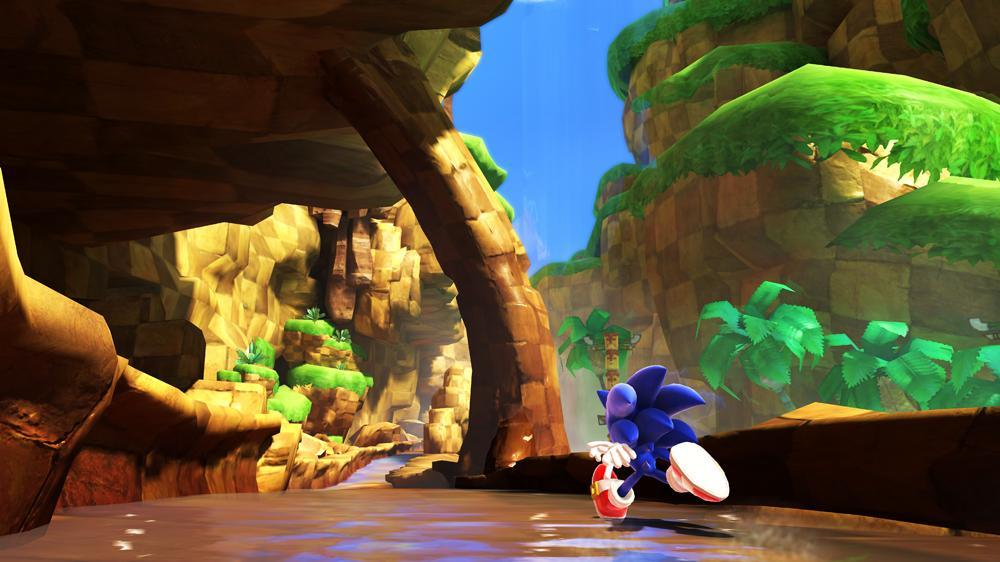 Snmek ze hry Sonic Generations Demo