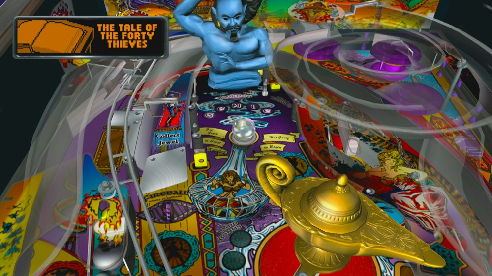 Image from Williams Pinball Classics