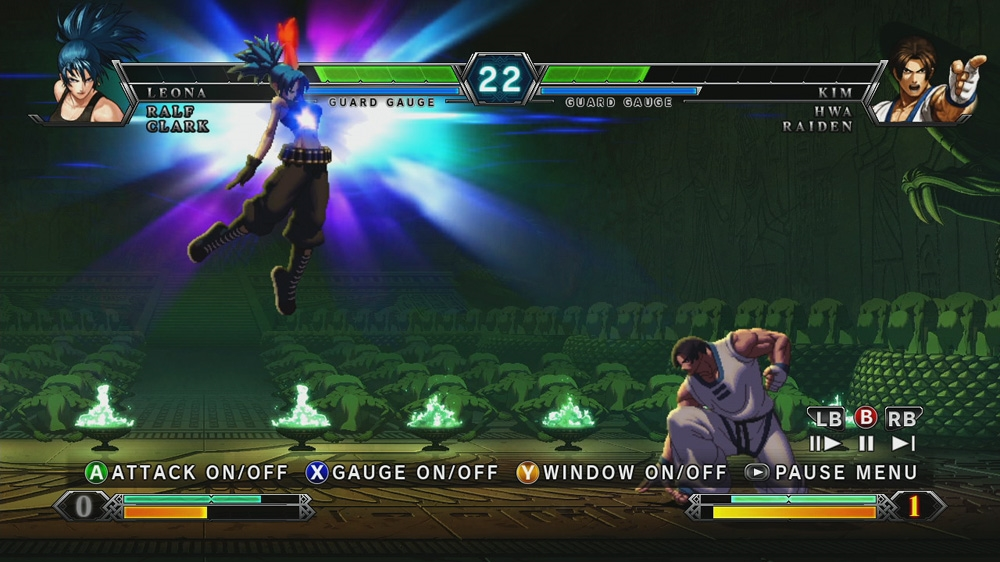 Bild från THE KING OF FIGHTERS XIII