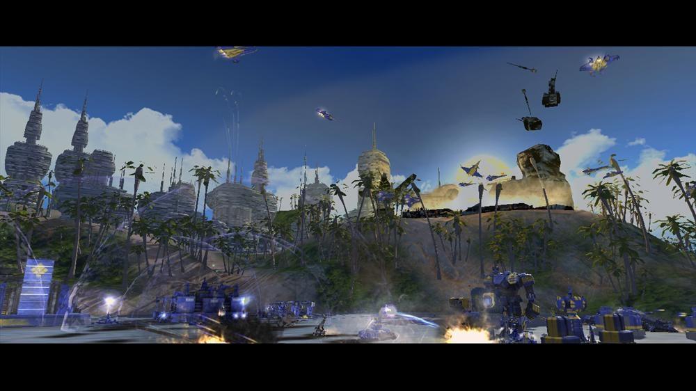 Snímek ze hry Supreme Commander 2