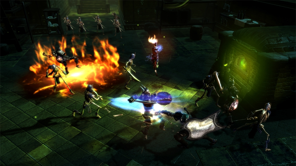 Bilde fra Dungeon Siege III