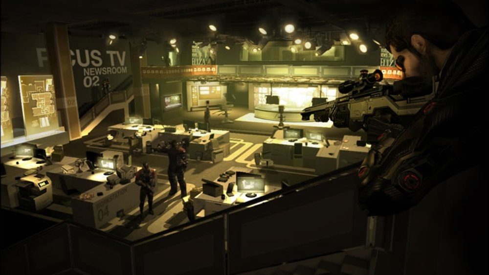 Image from DEUS EX: HUMAN REVOLUTION