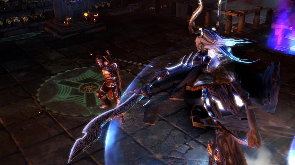 Image from Dungeon Siege III Demo