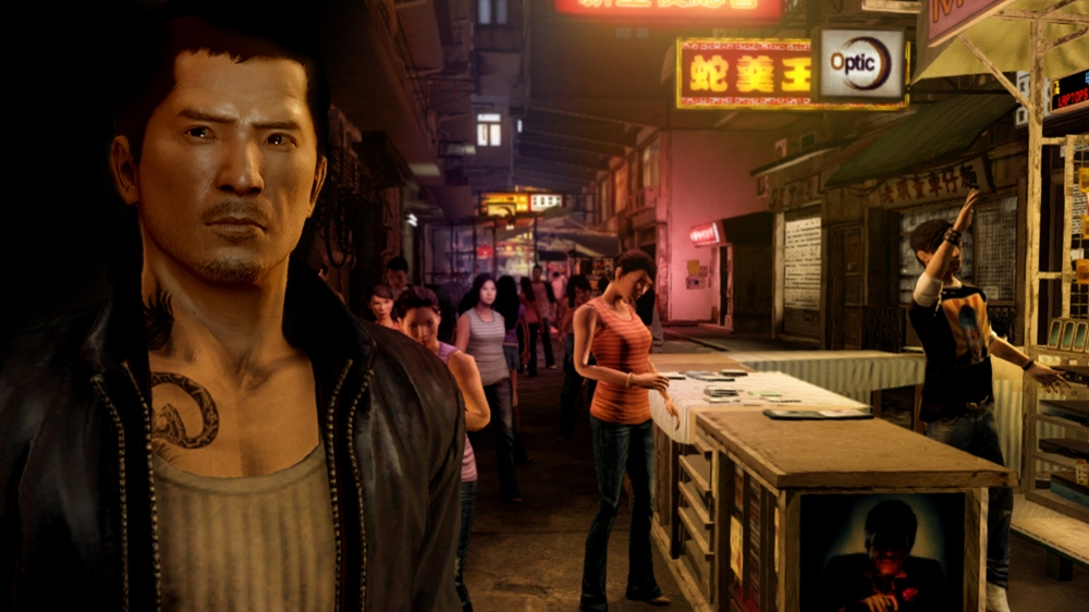 Kép, forrása: Sleeping Dogs Game Demo