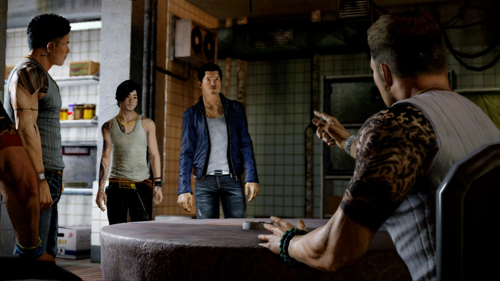 Image from Sleeping Dogs Game Demo