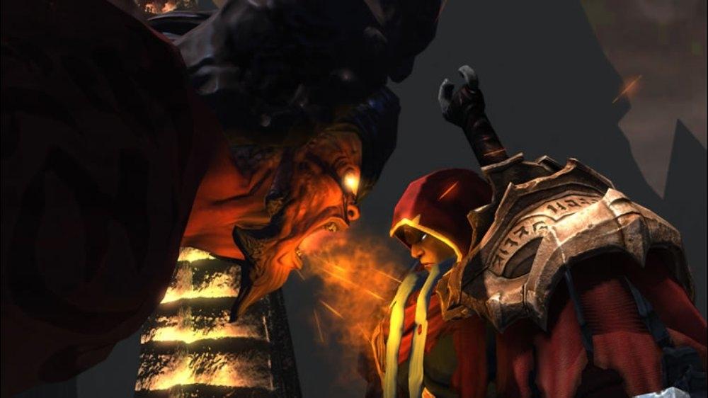 Snímek ze hry Darksiders