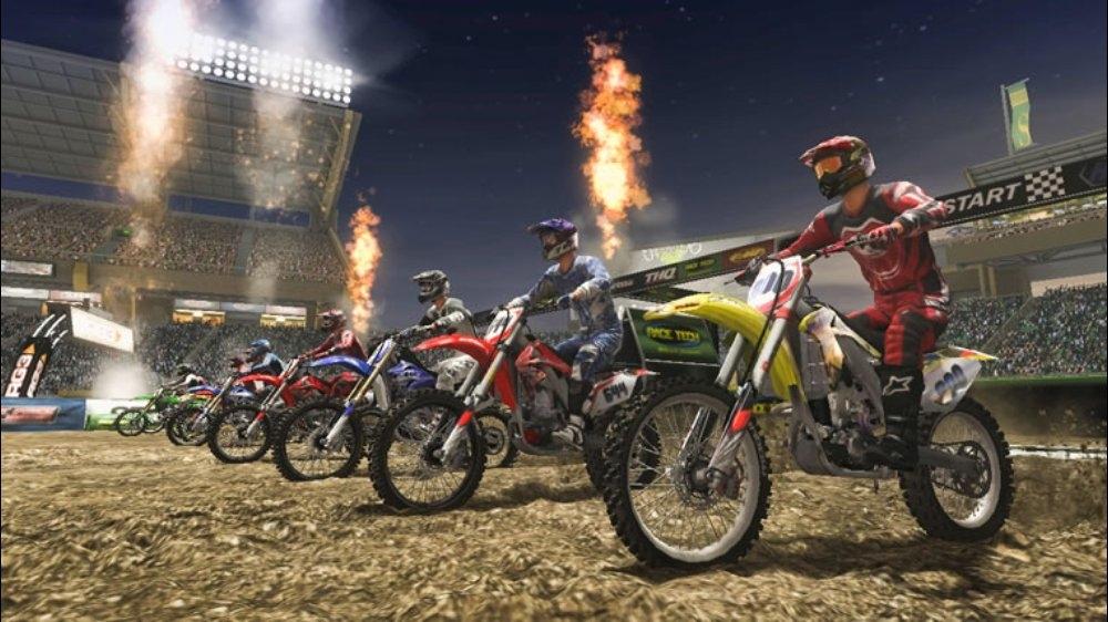 Snímek ze hry MX vs ATV Reflex