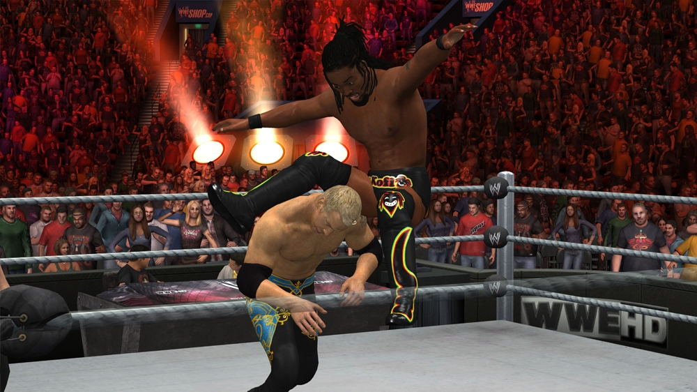 Kép, forrása: WWE Smackdown vs. Raw 2011