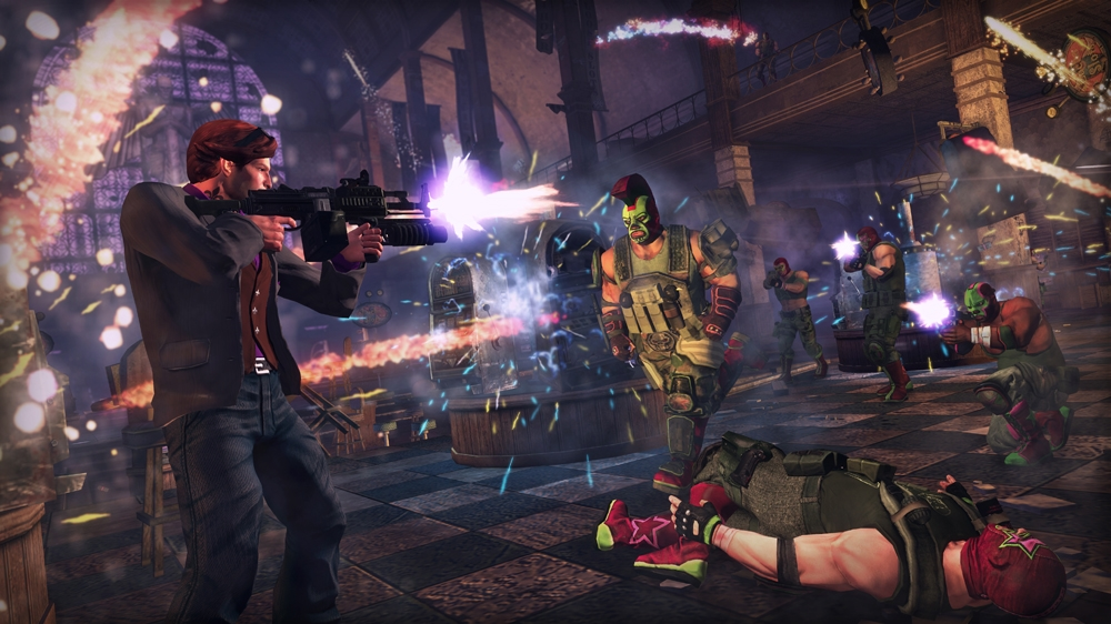 Bilde fra Saints Row: The Third 