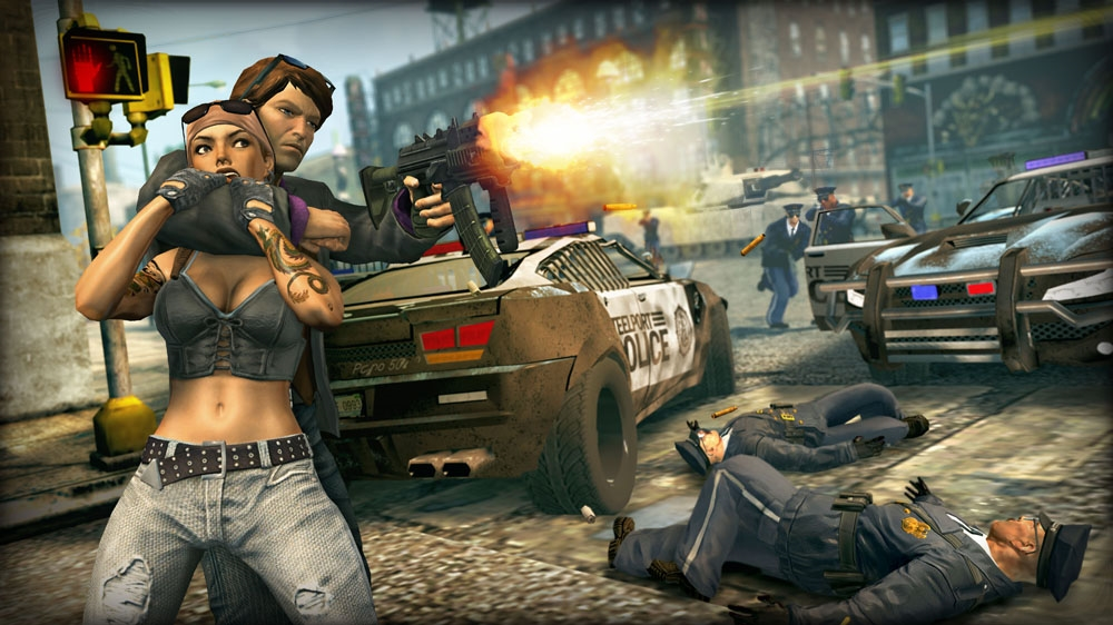Snímek ze hry Saints Row®: The Third™