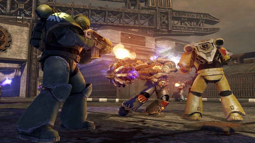 Image from Warhammer 40,000: Space Marine