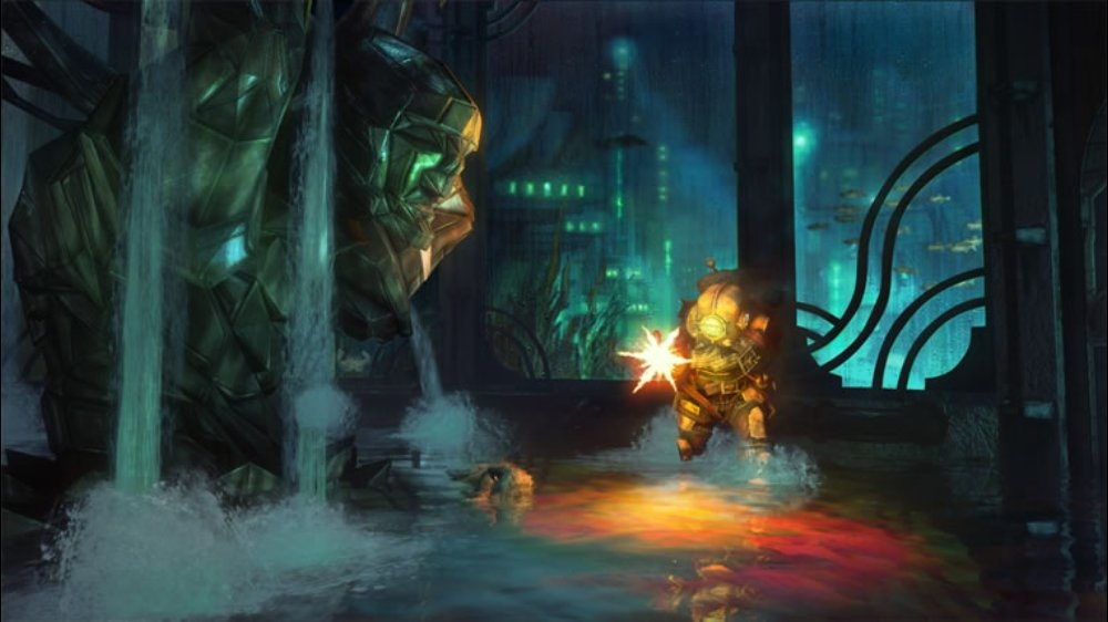 Snímek ze hry BioShock