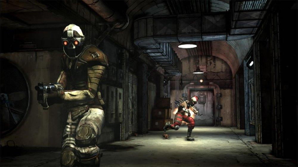 Snímek ze hry Borderlands