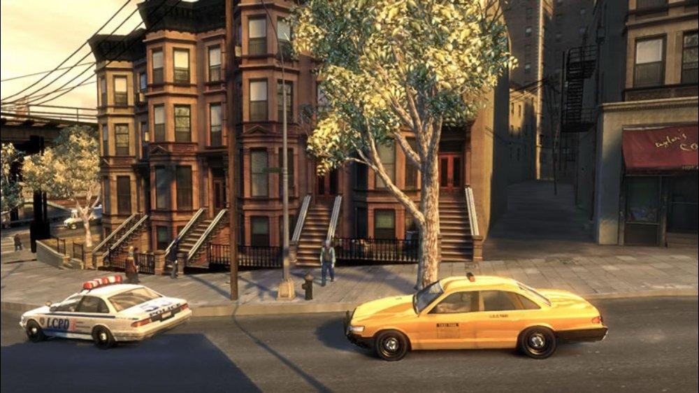 Snímek ze hry GTA IV