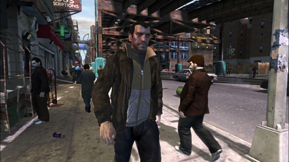 Изображение из GTA IV