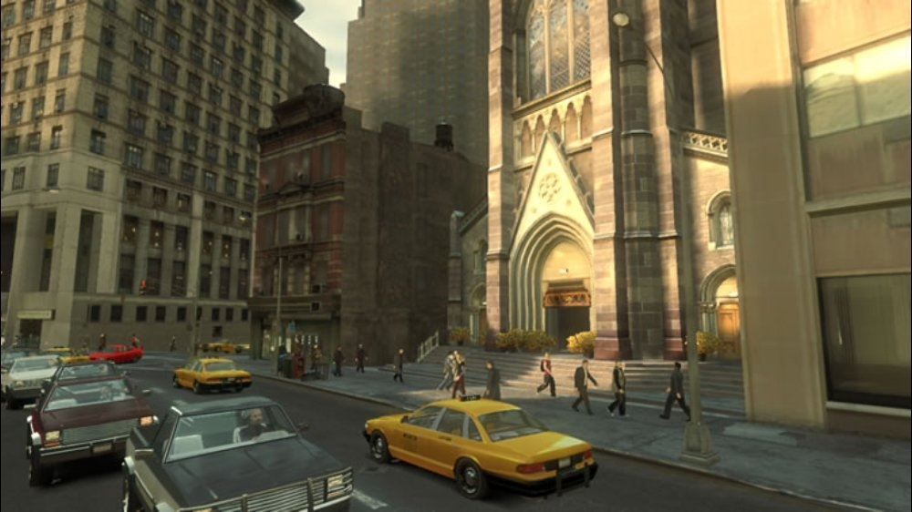Obrázok z hry GTA IV