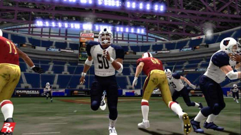 Image from All Pro Football 2K8