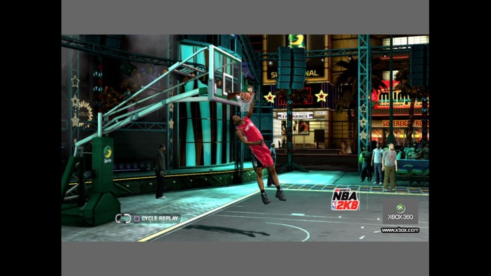 Image from NBA 2K8