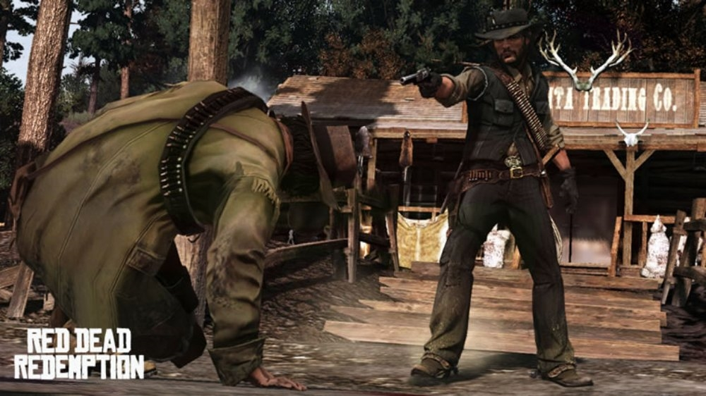 Obraz z Red Dead Redemption