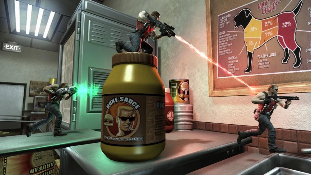 Snímek ze hry Duke Nukem Forever