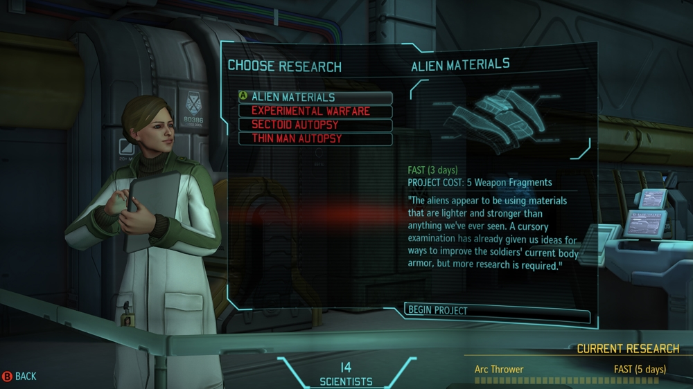Snímek ze hry XCOM®: Enemy Unknown