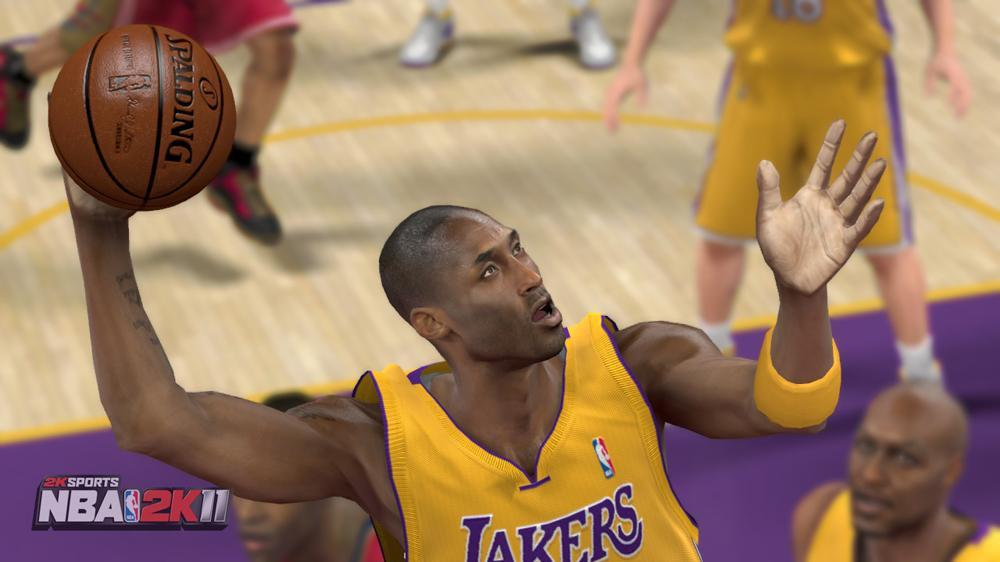 Image from NBA 2K11 Demo