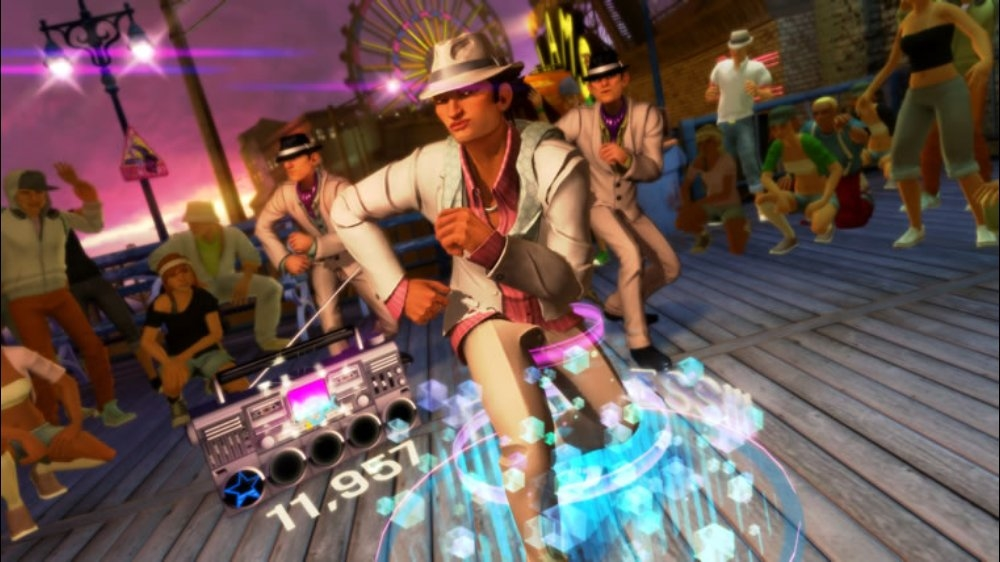 Snímek ze hry Dance Central