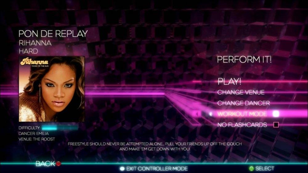 Obrázok z hry Dance Central