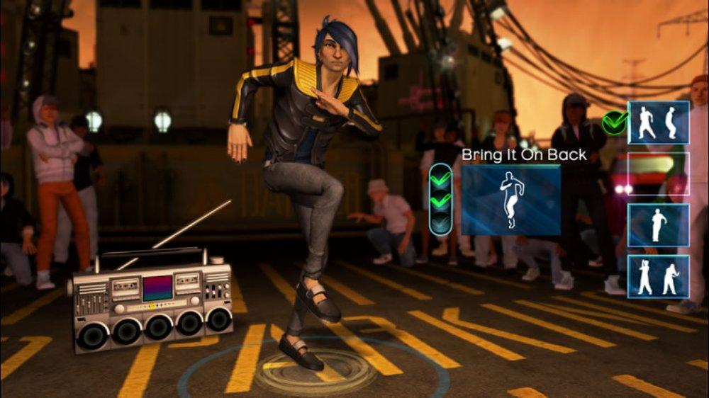 Image from Dance Central™ Demo