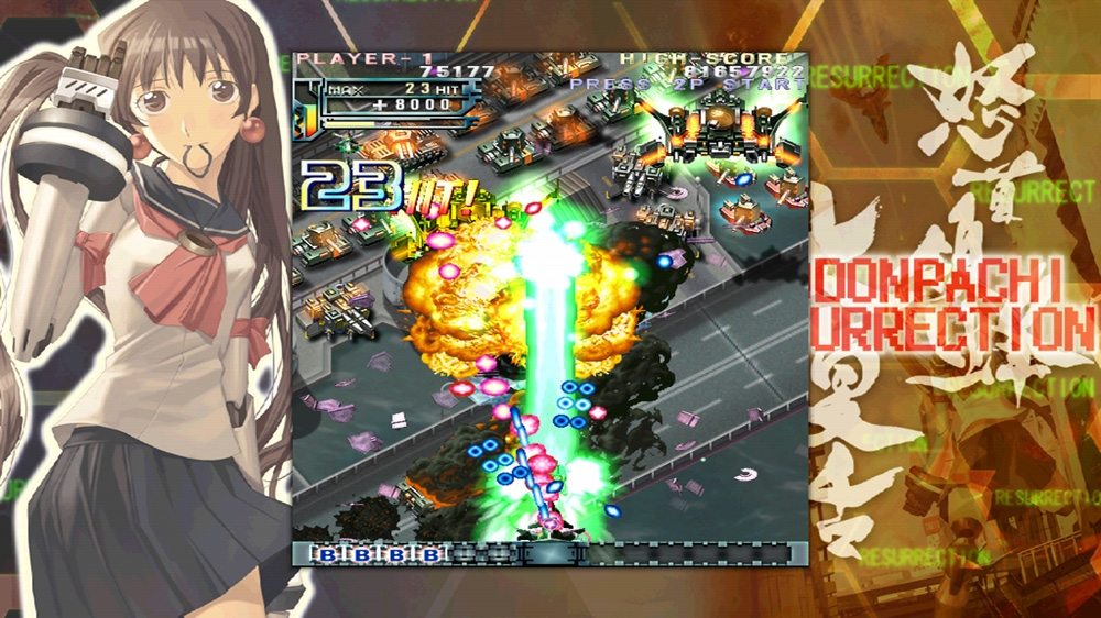 Image from DoDonPachi Resurrection