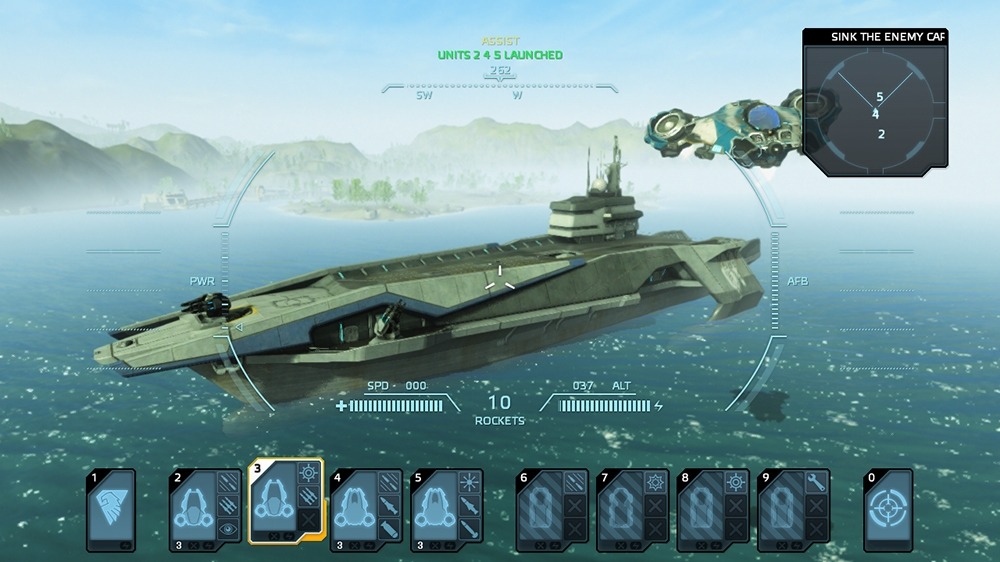 Image de Carrier Command: Gaea Mission
