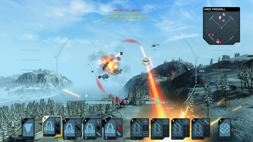 Image from Carrier Command: Gaea Mission