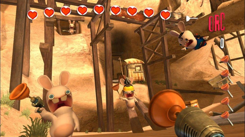 Image from Rayman Raving Rabbids