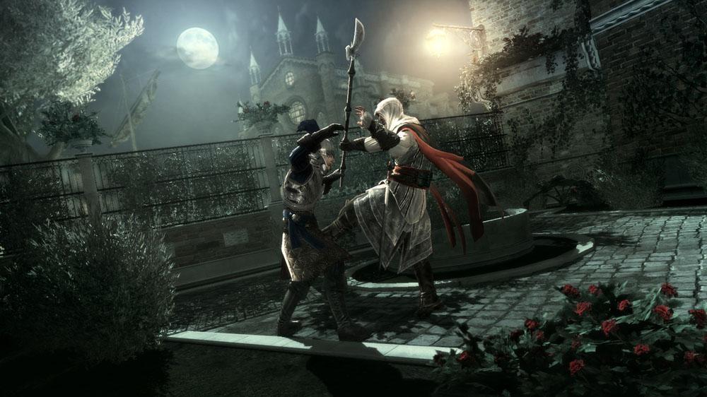 Snímek ze hry Assassin's Creed II