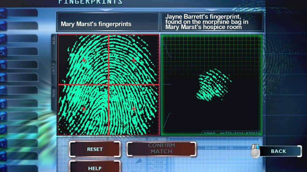 Image from CSI: Fatal Conspiracy