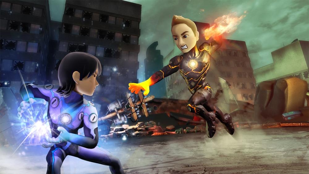 Billede fra PowerUp Heroes