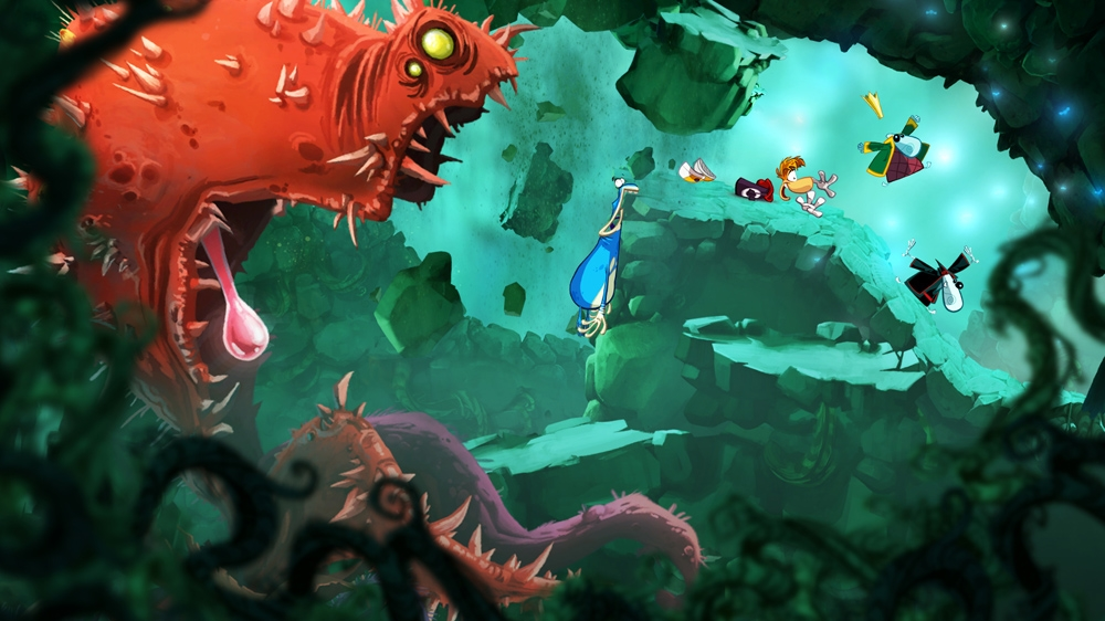 Image from Rayman Origins
