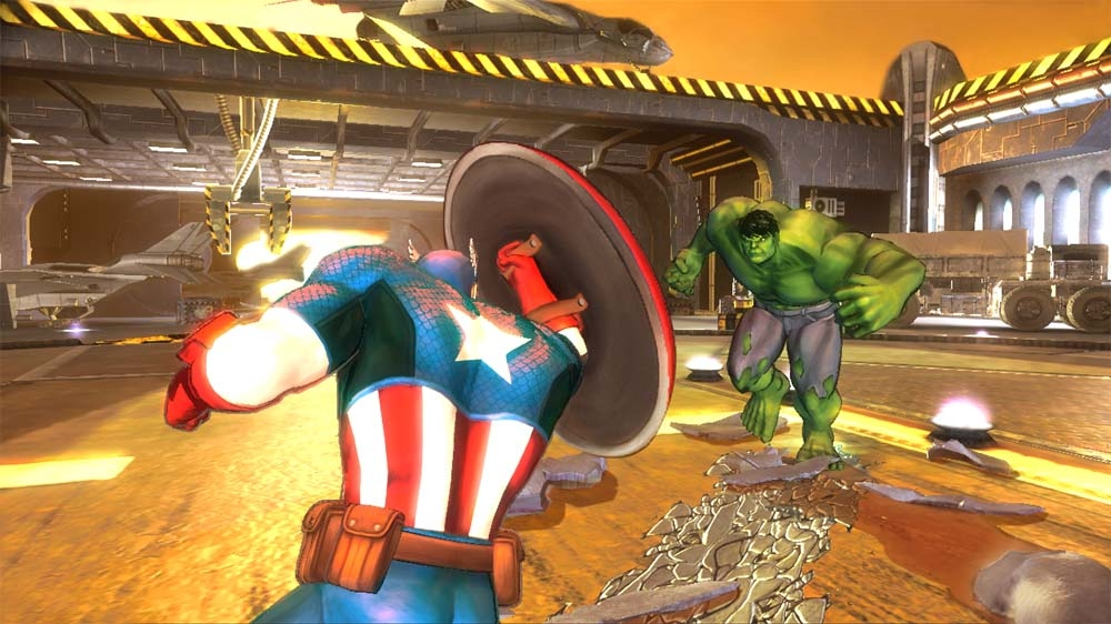 Image from Marvel Avengers: Battle for Earth