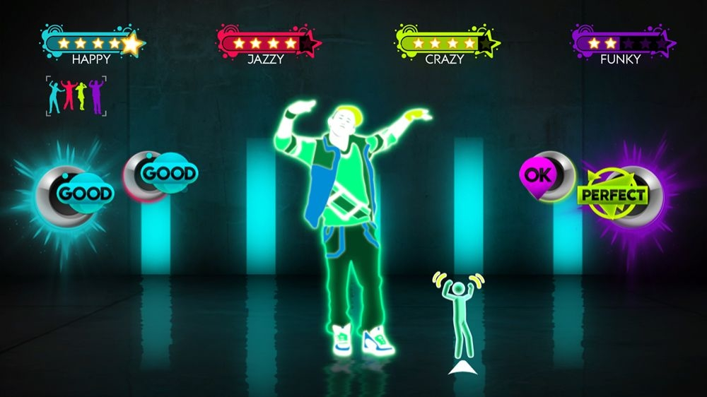 Snímek ze hry Just Dance Greatest Hits